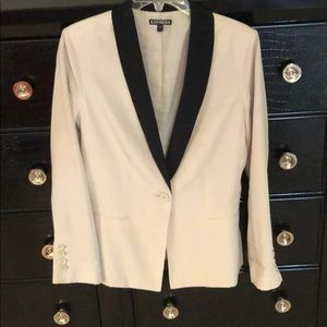 Express soft thin blazer
